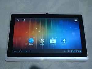 Allwinner A1X - A generic tablet based on the Allwinner A13 core.