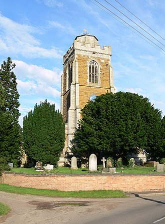 Beeby - Image: All Saints' Church, Beeby geograph.org.uk 497003