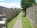 Alleyway from the western end of the Greensward at Middleton - geograph.org.uk - 849901.jpg
