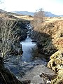 Allt an Dubh Choirein gully with ice - geograph.org.uk - 117098.jpg
