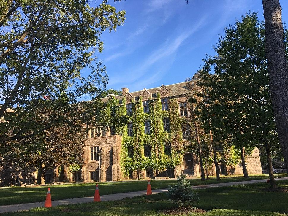 Alma mater - recent grad