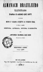 Almanach brazileiro illustrado para o anno de 1877