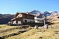 Alpine huts in location Borghetto di Sotto (m.a.s.l. 1897) in Valchiavenna, Province of Sondrio, Lombardy, Italy - 2017-10-15.jpg