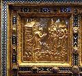 Altare di s. ambrogio, 824-859 ca., fronte dei maestri delle storie di cristo, 05 resurrezione di lazzaro.jpg