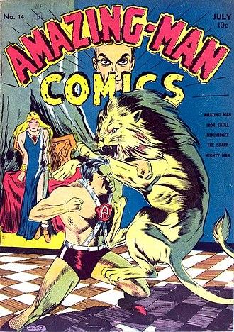 Centaur Publications - Image: Amazing man 14