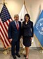 Ambassador Branstad with United States Ambassador to the United Nations Haley, 2018 (26832660968).jpg