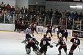 Amherst High School hockey team vs. Kenmore East, May 2011.jpg