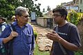 Amrit Gangar Talks With Indrajit Das - Dutch Cemetery - Chinsurah - Hooghly 2017-05-14 8306.JPG