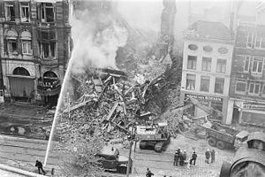 Hotel Polen fire - Hotel Polen before it was destroyed by fire
