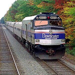 Amtrak Downeaster Cafe Menu