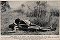 An Aboriginal medicine man or shaman from the Kakadu tribe s Wellcome V0015950.jpg