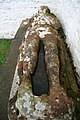 An effigy grave slab at Mouswald Parish Church - geograph.org.uk - 1065141.jpg
