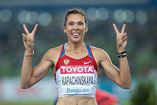 Anastasiya Kapachinskaya Russian sprinter