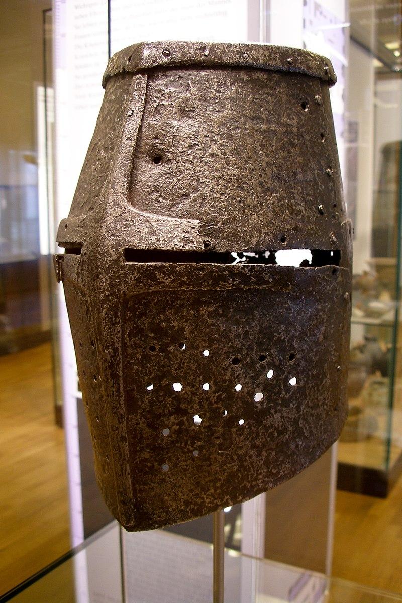 Ancient German armour helmet.jpg