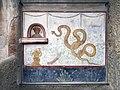 Ancient Roman frescos in Casa del Criptoportico (Pompeii).jpg