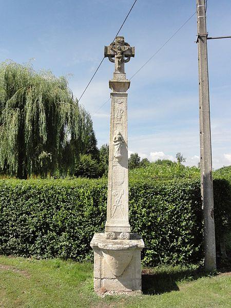 Andernay (Meuse) croix de chemin, recto
