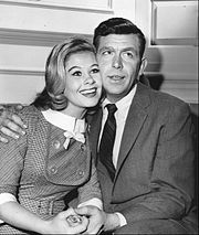 Langdon with Andy Griffith, 1962.
