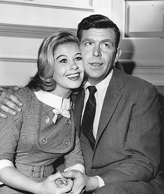 Sue Ane Langdon - Langdon with Andy Griffith, 1962.
