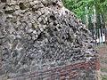 Anfiteatro di arezzo, opus reticulatum 01.JPG