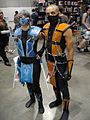Anime Expo 2010 - LA - Sub-Zero and Scorpion from Mortal Kombat (4837248410).jpg