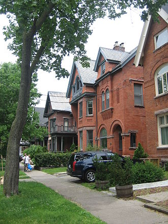 The Annex - The area is home to a cluster of homes built in the late-19th century.