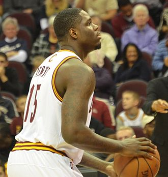 Anthony Bennett (basketball) - Bennett taking a free throw for the Cavaliers in October 2013