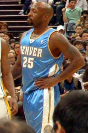 Anthony Carter - Carter during his tenure with the Nuggets