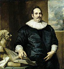 Portrait of Justus van Meerstraeten, Elisabeth van Assche's husband