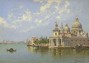 Antonietta Brandeis - The Piazzetta, Venice