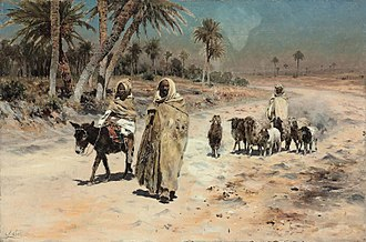 Arab Agricultural Revolution - Arab sheep herders, by Antonio Leto