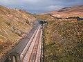 Approaching Blea Moor tunnel - geograph.org.uk - 1719112.jpg