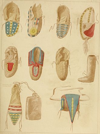 Snow dance - Image: Archives of aboriginal knowledge. Containing all the original paper laid before Congress respecting the history, antiquities, language, ethnology, pictography, rites, superstitions, and mythology, of (14578709339)