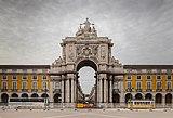 Arco Triunfal da Rua Augusta, Plaza del Comercio, Lisboa, Portugal, 2012-05-12, DD 02.JPG