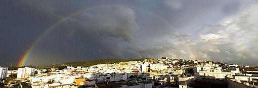 Arcobaleno su San Roque