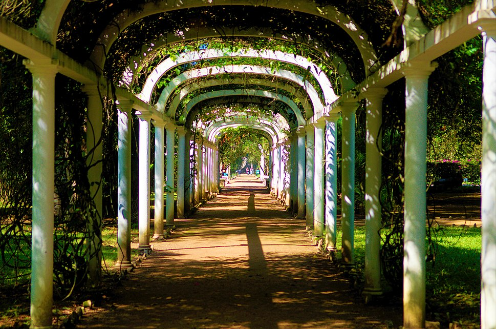 Arcos do Jardim Botânico do Rio.