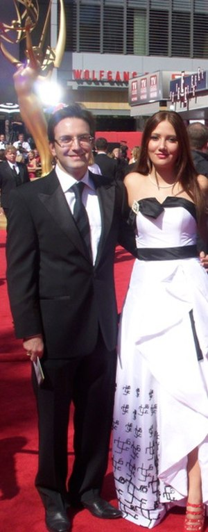 Arefeh Mansouri - Arefeh Mansouri at the 61st Primetime Emmy Awards (NOKIA Theatre, September 20, 2009)