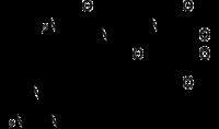 Stereo, skeletformulo de arginilglicilaspartic-acido