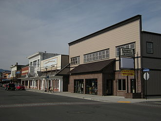 Arlington, Washington - Storefronts on Olympic Avenue in downtown Arlington were built during the city's early history and have since been preserved