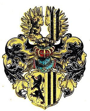 Coat of arms of Dresden -  The arms of Dresden around 1920