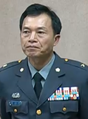 Army (ROCA) Major General Chung Shu-ming 陸軍少將鍾樹明 (20150608 10:51:20 19th Full-meeting of the Foreign and National Defense Committee, Legislative Yuan 立法院外交及國防委員會第19次全體委員會議).png