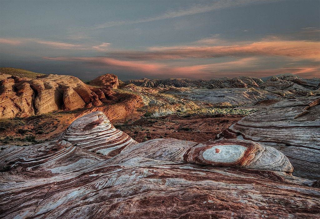 File Around Sunset Valley Of Fire State Park Nv Jpg
