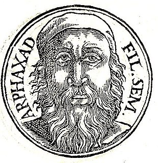 Arpachshad in the Bible, son of Shem, the son of Noah