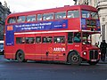 Arriva London Routemaster bus RML2521 (JJD 521D), Westminster station, route 159, 8 December 2005 uncropped.jpg