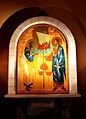 Art at Gallicantu Peter's Church.JPG