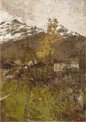 Francesco Filippini - Prime nevi, 1889