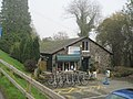 Artisans Cafe and bicycle hire at Lake Vyrnwy - geograph.org.uk - 1574346.jpg
