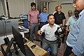 Arun Goel Checks Oculus Rift - NCSM - Kolkata 2018-09-23 4551.JPG