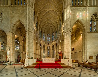 Arundel Cathedral - The sanctuary