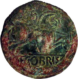 Segobriga - As of the Segobriga mint.