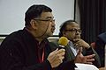 Ashwin Baindur - Panel Discussion - Collaboration with Academic Institutes for the Growth of Wikimedia Projects in Indian Languages - Bengali Wikipedia 10th Anniversary Celebration - Jadavpur University - Kolkata 2015-01-10 3381.JPG